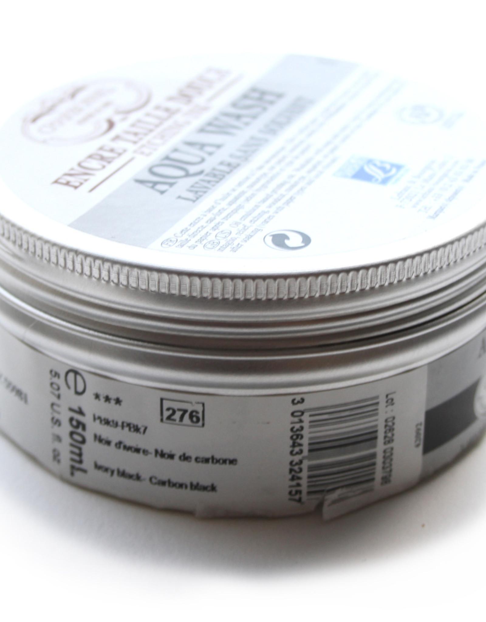 L&B Charbonnel Etsinkt Aqua Wash 150ml Zwart Koolstof / Carbon Black Serie 1 no 291