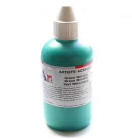 ARA Acrylverf Ara Artists' 250ml, M610 serie C, Metallic Groen