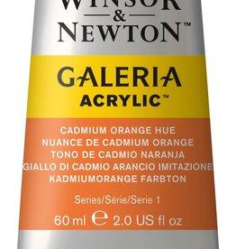 WInsor & Newton Acryl 'Basis' startpakket W&N Galeria 8 x 60ml  bevat 8: 2xgeel, 2xrood, 2xblauw, zwart en wit