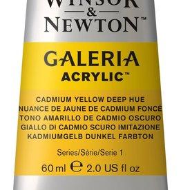 WInsor & Newton Acrylverf W&N Galeria 60ml Geel  Cadmium (roodneigend) Diep 115