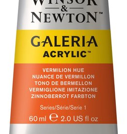 WInsor & Newton Acrylverf W&N Galeria 60ml Rood Vermiljoen Imitatie (oranjeneigend) 682