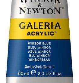 WInsor & Newton Acrylverf W&N Galeria 60ml Blauw Winsor (groenneigend) 706