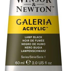 WInsor & Newton Acrylverf W&N Galeria 60ml Zwart Lampe 337