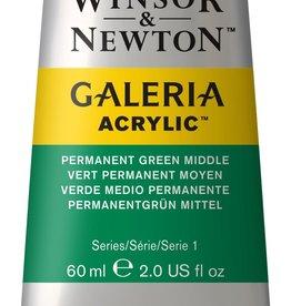 WInsor & Newton Acrylverf W&N Galeria 60ml Groen Permanent Midden 484