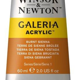WInsor & Newton Acrylverf W&N Galeria 60ml Bruine Aarde Gebrande Sienna 074