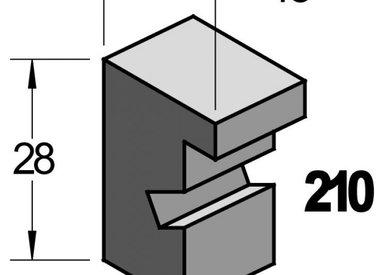 Barth Zwart Essen 18x28 mm (serie210)