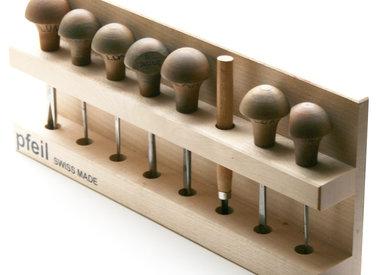 Handpalmgutsen Pfeil voor hout of Lino