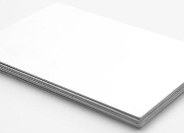 Zinkplaatjes 0,8 mm (zonder folie)