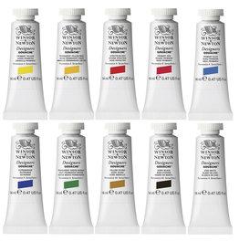 WInsor & Newton Gouache set Introductie kleuren Designer W&N 14ml 10 stuks