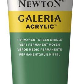 WInsor & Newton Acrylverf W&N Galeria 120ml Groen Permanent Midden 484