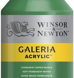 WInsor & Newton Acrylverf W&N Galeria 500ml Groen Permanent Midden 484
