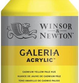 WInsor & Newton Acrylverf W&N Galeria 500ml Geel Cadmium Licht  114