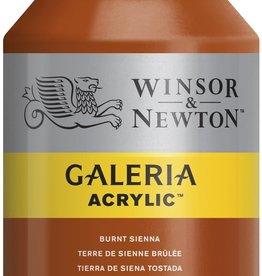 WInsor & Newton Acrylverf W&N Galeria 500ml Bruine Aarde Gebrande Sienna 074
