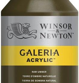 WInsor & Newton Acrylverf W&N Galeria 500ml Bruine Aarde Rauwe Omber  554