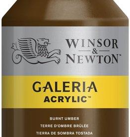 WInsor & Newton Acrylverf W&N Galeria 500ml Bruine Aarde Gebrande Omber 076