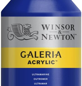 WInsor & Newton Acrylverf W&N Galeria 500ml Blauw Ultramarijn (roodneigend) 660