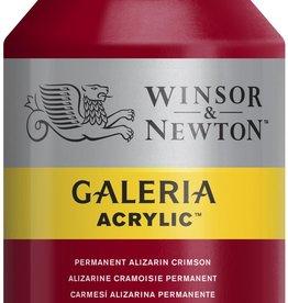 WInsor & Newton Acrylverf W&N Galeria 500ml Rood Alizarin Crimson Permanent (blauwneigend) 466