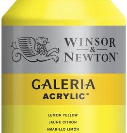 WInsor & Newton Acrylverf W&N Galeria 500ml Geel Citroen (groenneigend) 346