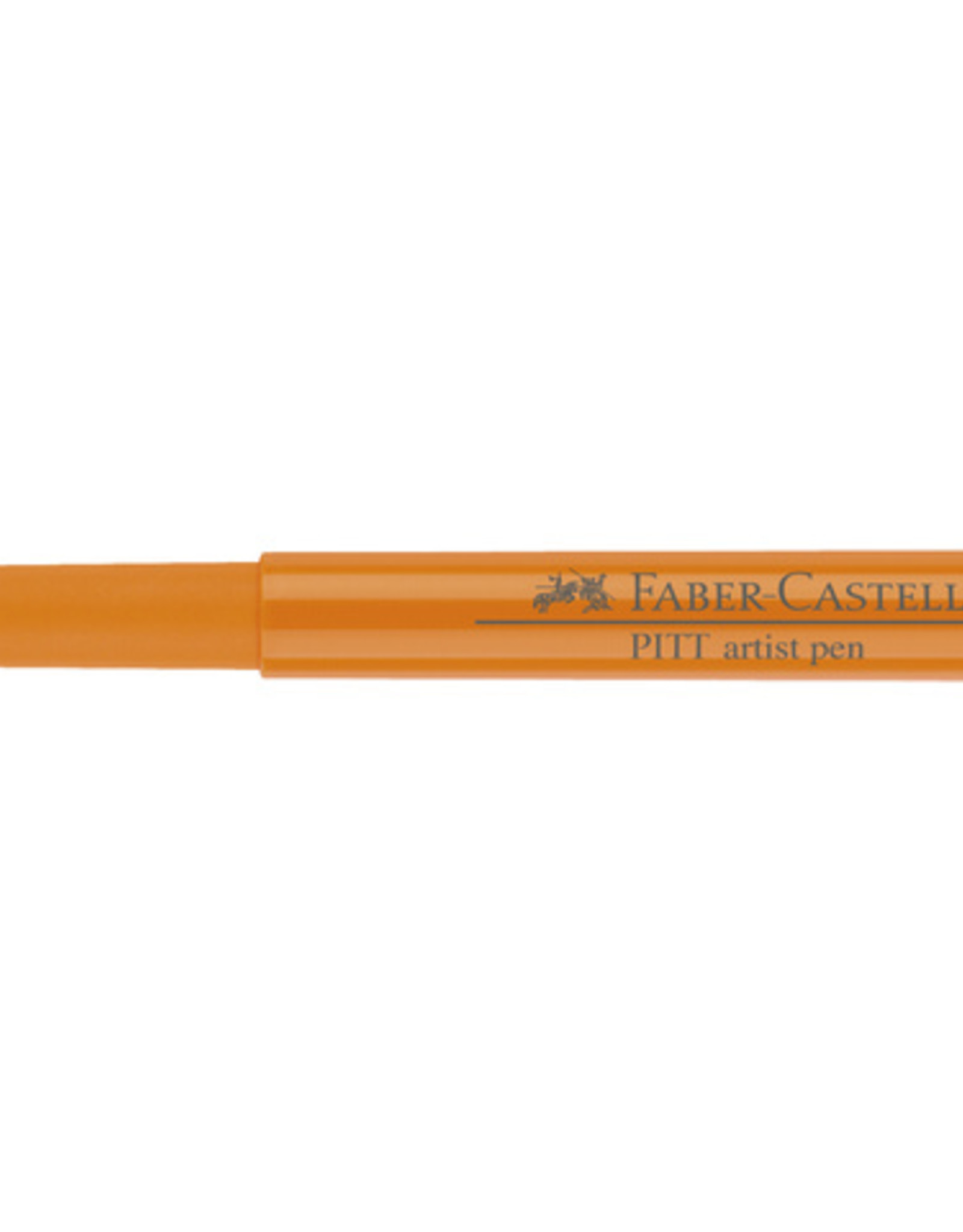 3 Stiften Oranje Lazuur Faber-Castell Pitt Artists Pen Brush