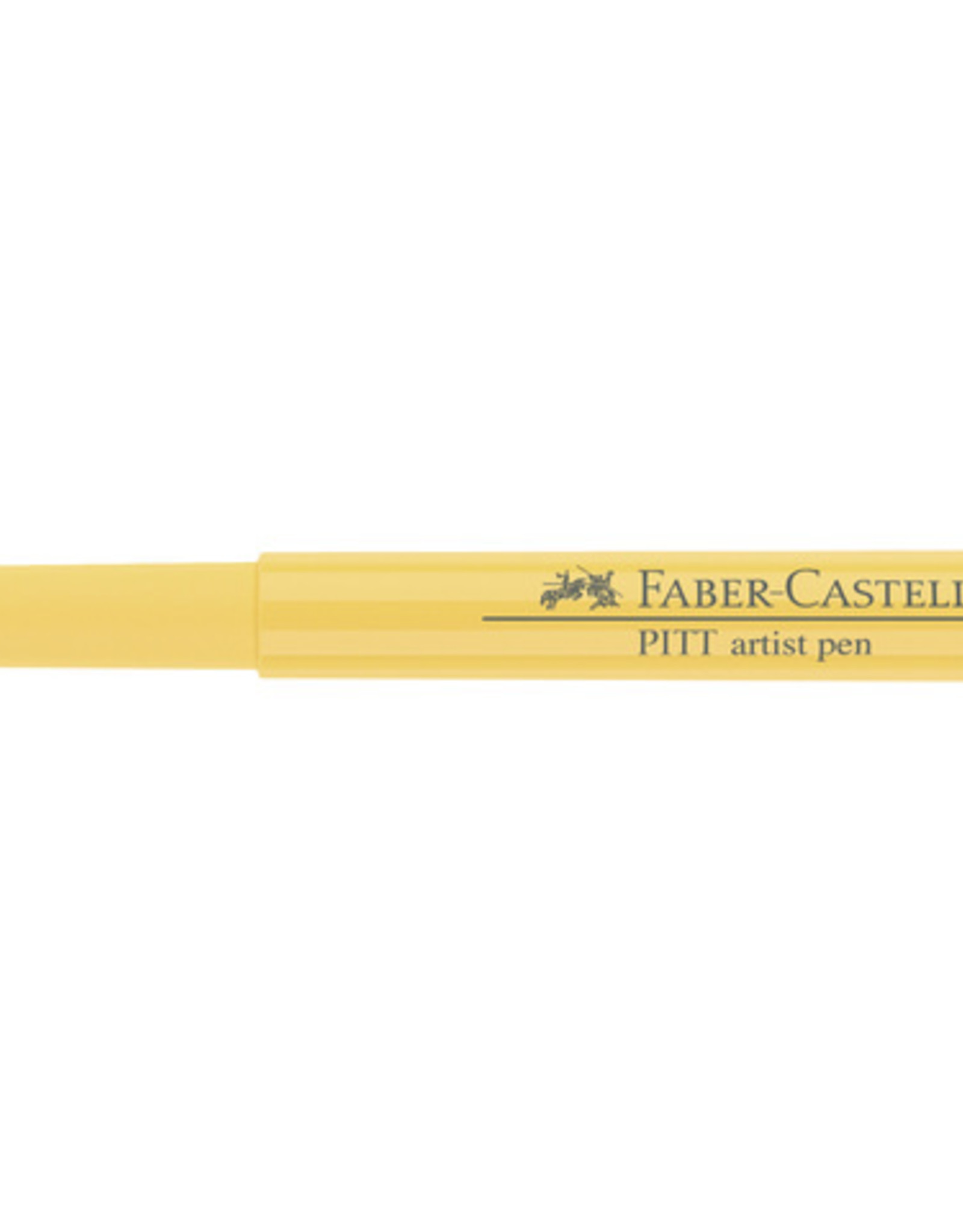 3 Stiften Geel Cadmium Donker Faber-Castell Pitt Artists Pen Brush