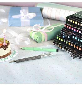 Prof-pakket tekenstiften 60 stuks Faber-Castell Artists Pen Brush in doos