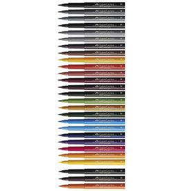 3 Stiften Faber-Castell Pitt Artists Pen Brush Alle Kleuren (Klik door voor de kleuren)
