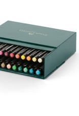 Actief-pakket tekenstiften 24 stuks Faber-Castell Artists Pen Brush in doos