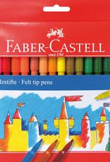 Luxef-pakket tekenstiften 36 stuks Faber-Castell in Kartonnen etui