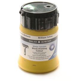 Rowney Blockprint Inkt Waterbasis Rowney Geel Briljant/ Briljant Yellow, 250 ml no 607