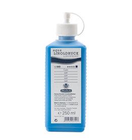 Schmincke Blockprint Schmincke Aqua-Linoprint Blauw (koel) Cyaan 250 ml