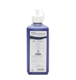 Schmincke Blockprint Schmincke Aqua-Linoprint Blauw (warm) Ultramarijn 250 ml