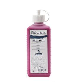 Schmincke Blockprint Schmincke Aqua-Linoprint Rood (koel) Magenta 250 ml