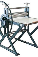 Poly Etspers met drukformaat 50 x 100 cm. Doorsnede 125mm bovenwals, 80mm onderwals