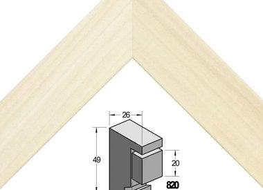 Barth Populier Verdiept 26x49 mm (serie820)
