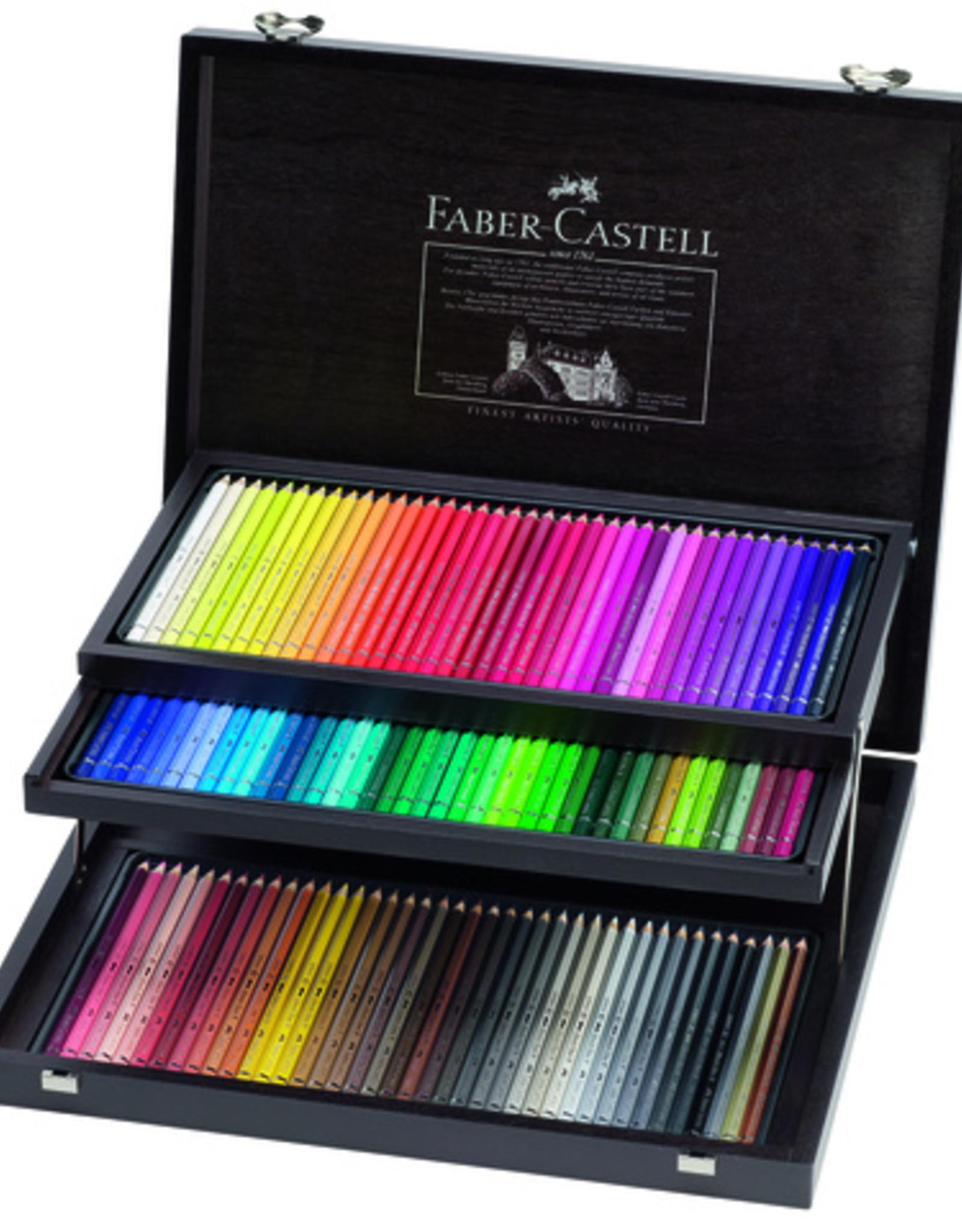Faber-Castel Aquarelpotloden 'Prof'set  120 stuks luxe houten kist Faber Castell 'Albrecht Durer'