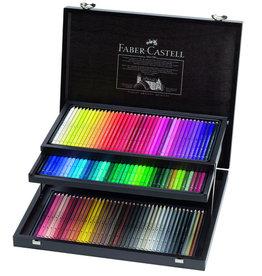 Faber-Castel Aquarelpotloden set 120 stuks luxe houten kist Faber Castell 'Albrecht Durer'