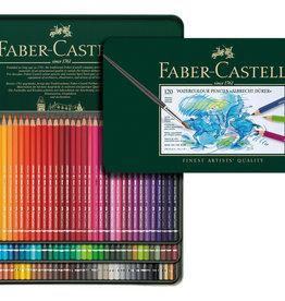 Faber-Castel Aquarelpotloden set 120 stuks Faber Castell 'Albrecht Durer' in metalen doos
