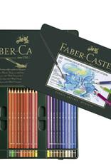 Faber-Castel Aquarelpotloden set 60 stuks Faber Castell 'Albrecht Durer' in metalen doos