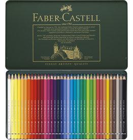 Faber-Castel Aquarelpotloden set 36 stuks Faber Castell 'Albrecht Durer' in metalen doos