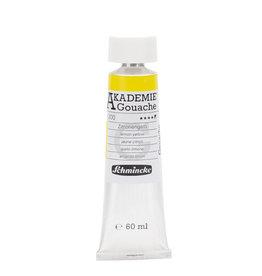 Schmincke Gouache Verf Schmincke Akademie 60 ml Geel Citroen/Lemon Yellow  200-1