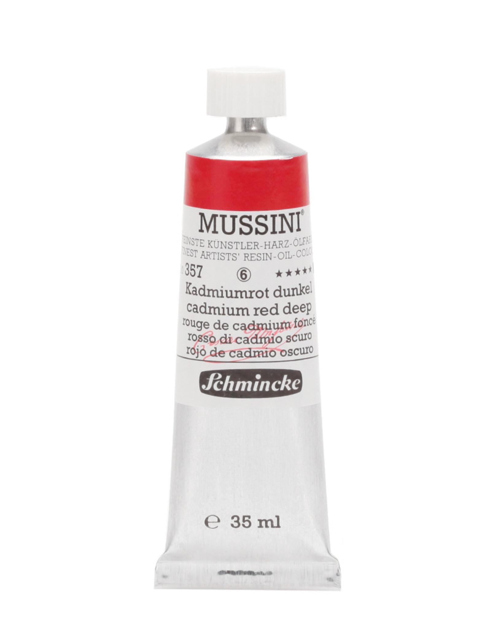 Schmincke Olieverf Mussini 35 ml Rood Cadmium Donker 357/6