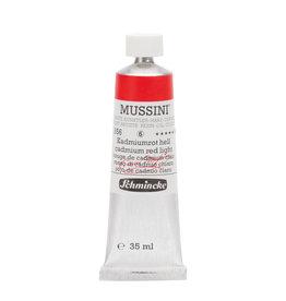 Schmincke Olieverf Mussini 35 ml Rood Cadmium Licht 356/6