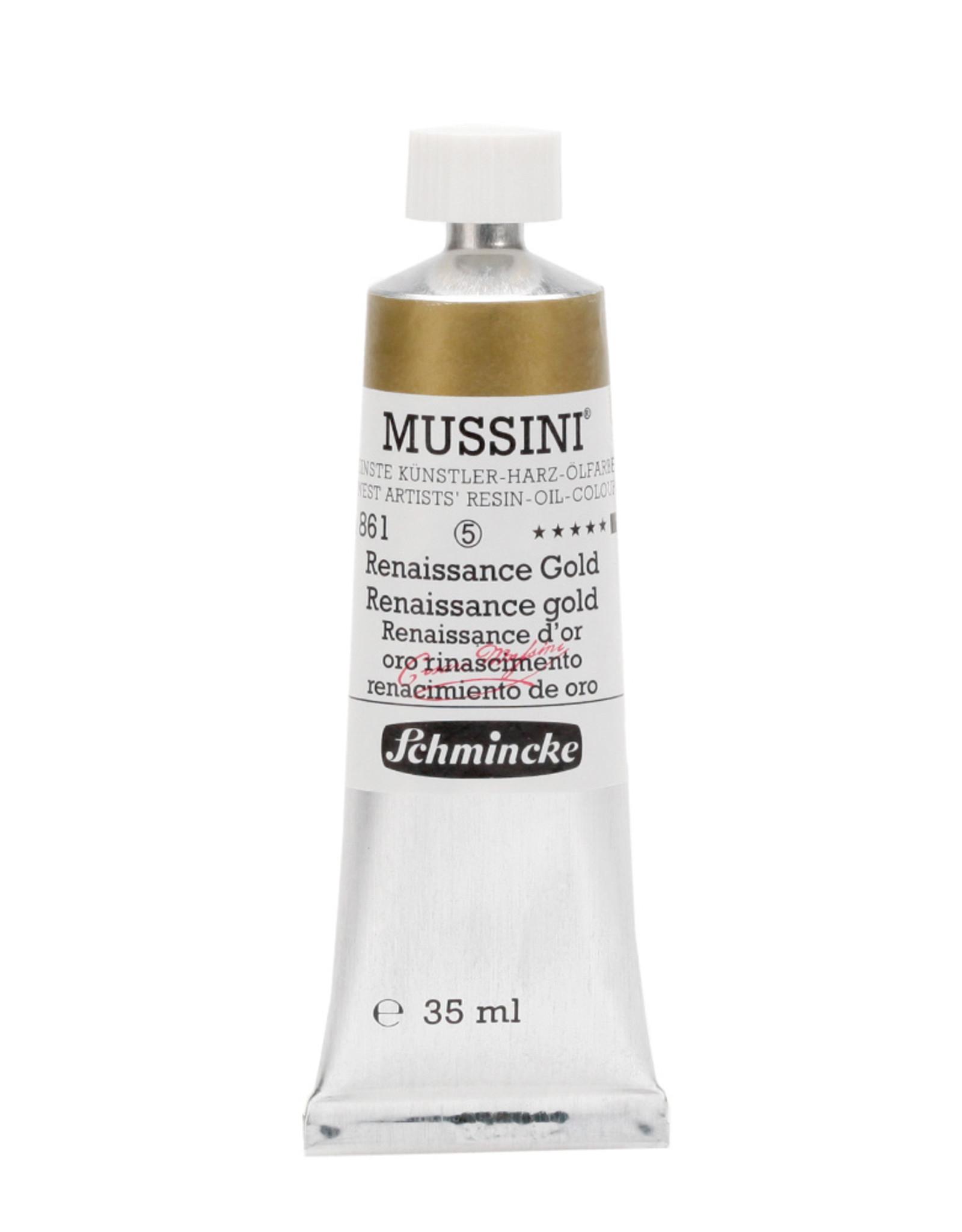 Schmincke Olieverf Mussini 35 ml Goud Renaissance 861/5