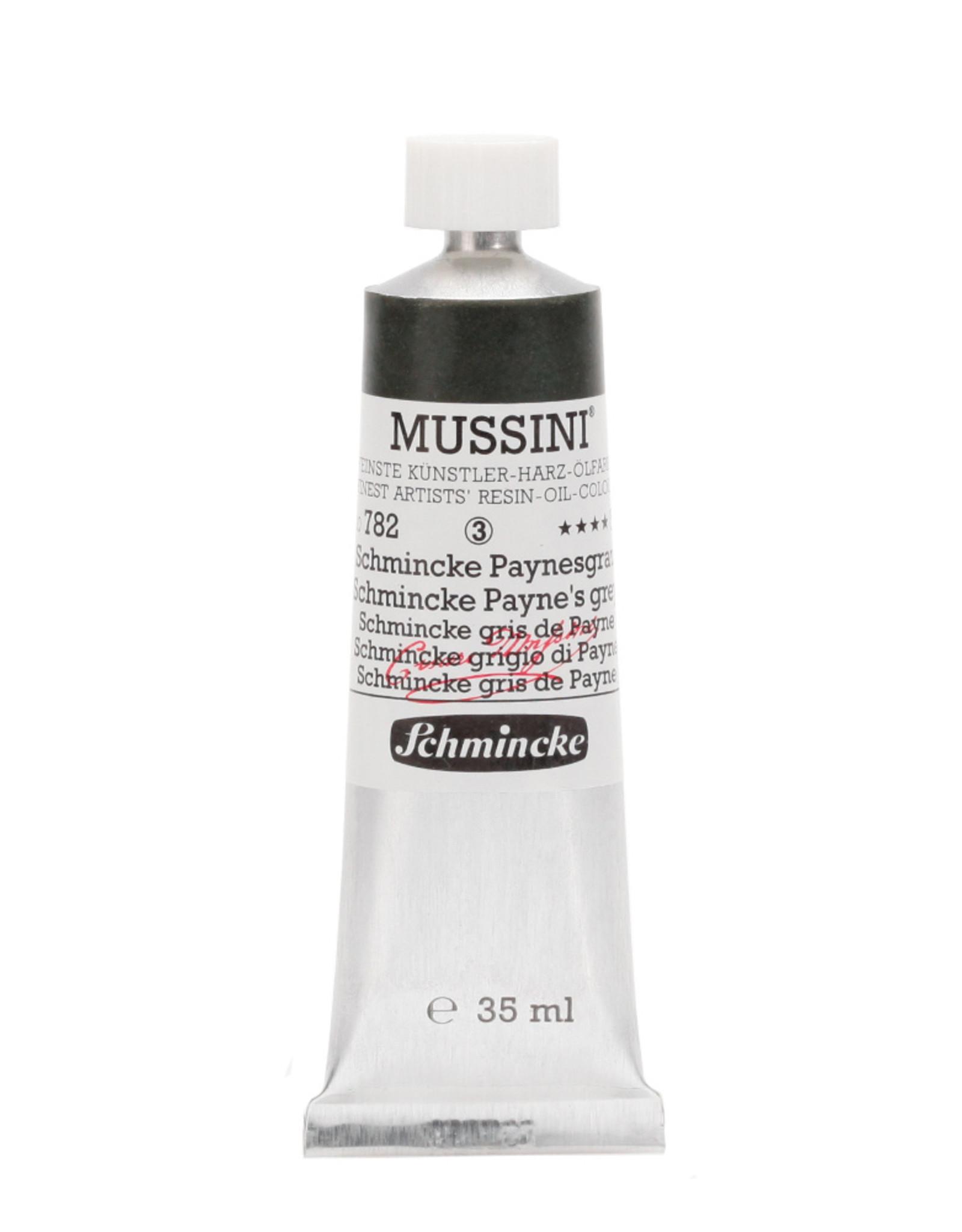 Schmincke Olieverf Mussini 35 ml Grijs Paynes 782/3