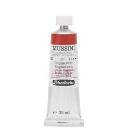 Schmincke Olieverf Mussini 35 ml Aarde Engels Rood 651/1