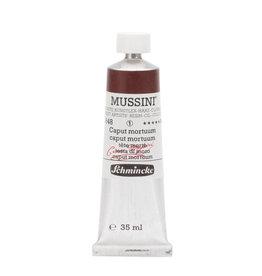 Schmincke Olieverf Mussini 35 ml Aarde Caput Mortem 648/1