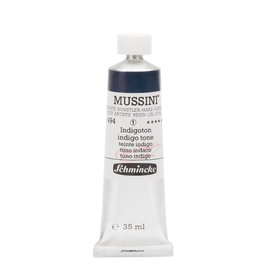 Schmincke Olieverf Mussini 35 ml Blauw Indigo Hue 494/1