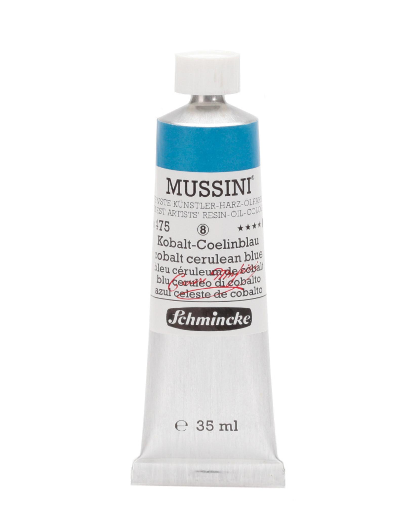 Schmincke Olieverf Mussini 35 ml Blauw Ceruleum Kobalt 475/8