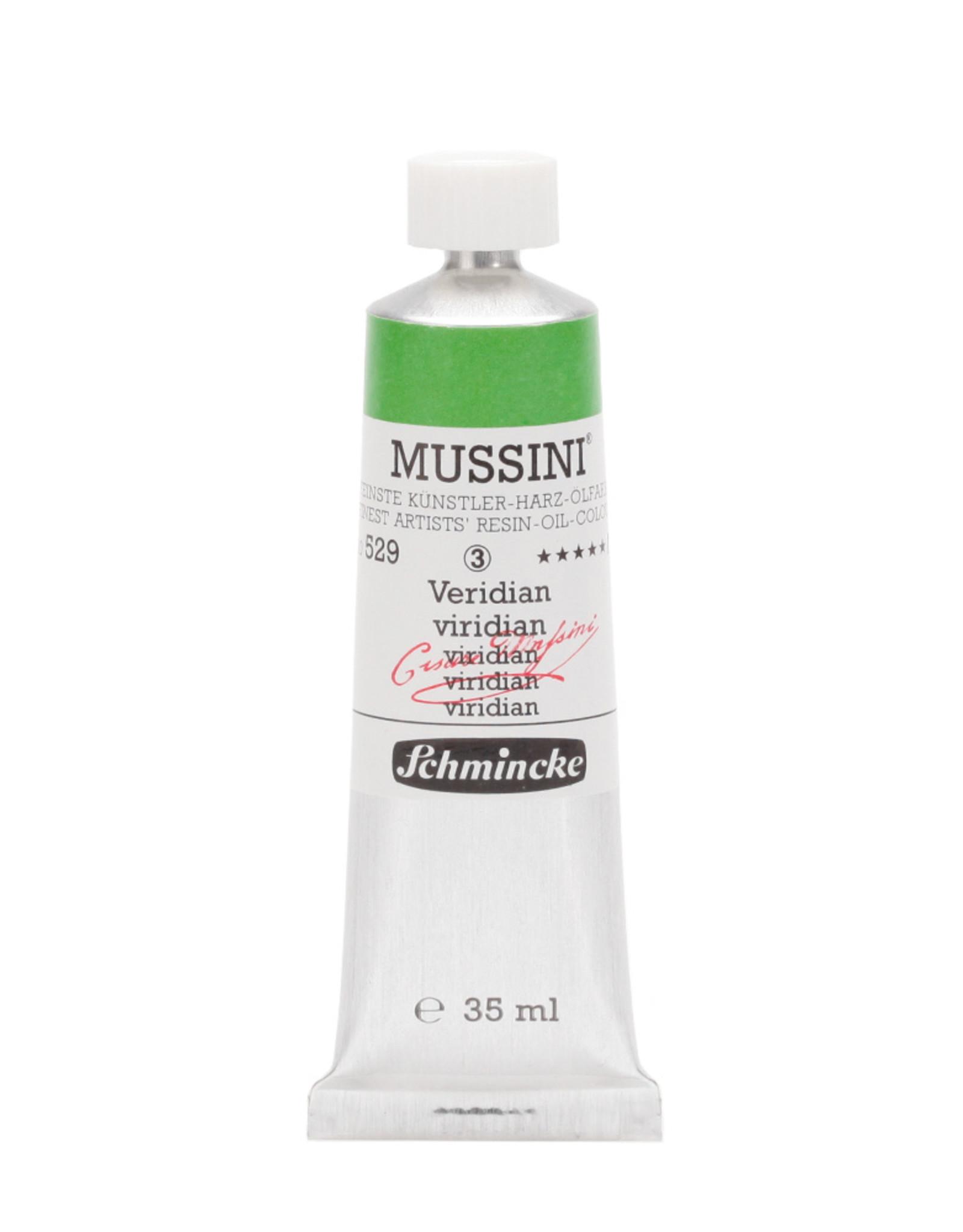 Schmincke Olieverf Mussini 35 ml Groen Viridiaan 529/3
