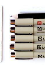 Sakura Zentangle tool set 12-delig/ Set met 5 markers, potlood, doezelaar, instructie en papier